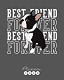 Planner 2020: Boston Terrier Weekly Planner. Monthly Calendars, Daily Schedule, Important Dates, Mood Tracker, Goals and Thoughts all in One! With a Cute Boston Terrier Illustration on each Page!