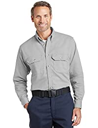 Bulwark Mens EXCEL FR ComforTouch Dress Uniform Shirt