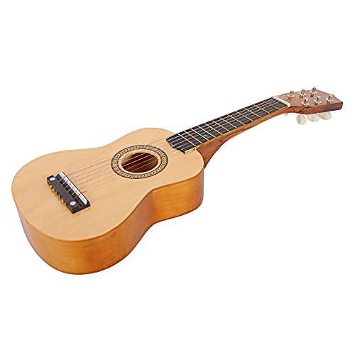21″ Acoustic Guitar Toy with Pick String (Wood)