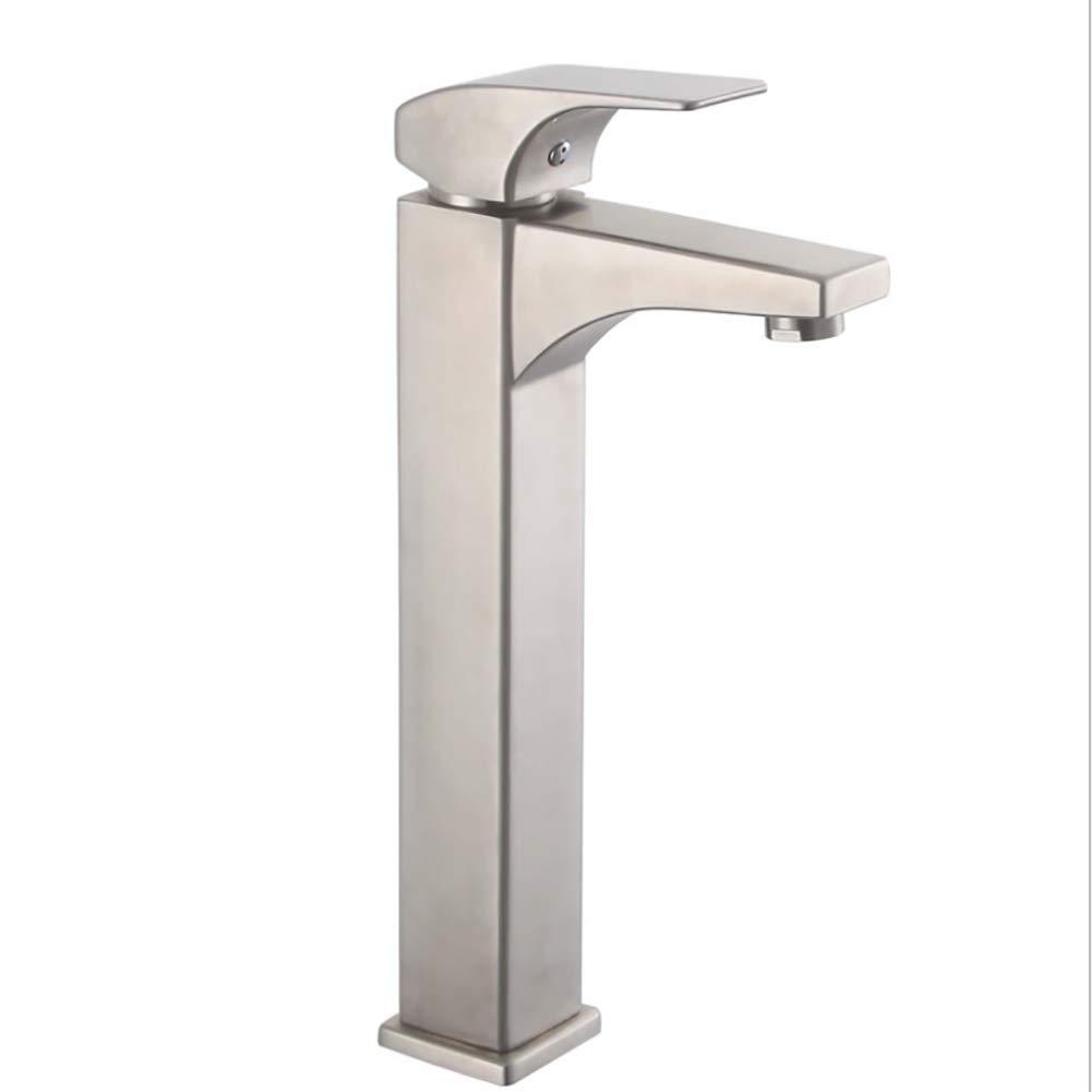 Bathroom Sink Taps Lever Basin Taps Kitchen Tap, Cloakroom Basin Sink Mixer Tap Chrome Bathroom Faucet