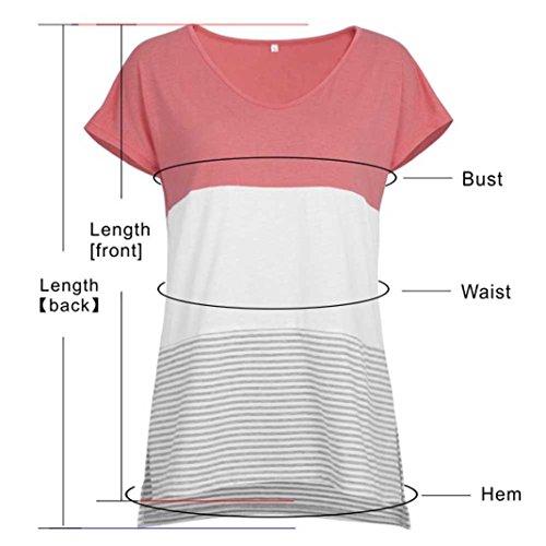 SANFASHION Poli Bailarinas Bekleidung de Damen SANFASHION Shirt155 AAr16