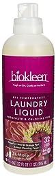 Bio Kleen Liquid Laundry Detergent, 32 Ounce -- 6 per case