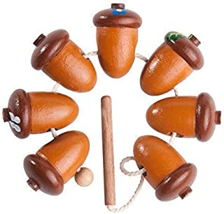 Wooden lacing toy Acorns, Educational toy, Learning Toy, Toddler toy, Toddler birthday gift, Motor skills toy, wooden toy