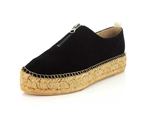 Eric Michael Womens, Serena Slip On Shoes Black Nub