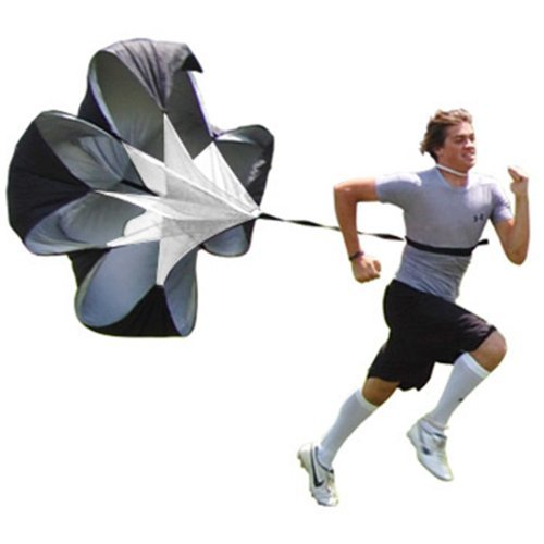 "Weanas® Speed Training Resistance Parachute 48"" inch Sports Power Running Chute Parachute High Quality"