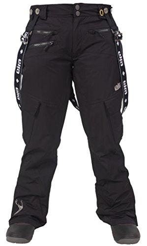 EIRA Women's Woodlot Suspender Pant, Black, - Pink Oakleys Camo