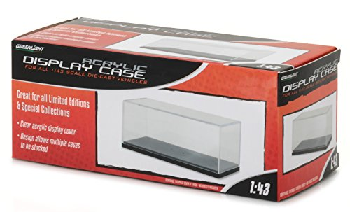 GreenLight 1:43 Acrylic Case with Plastic Base (55023) Die-Cast Accessory (Diecast Box)