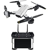 Hot Sale Drone,SG-SG700 2.0MP Wide Angle Camera Wifi FPV Foldable 6-Axis Gyro RC Quadcopter for Kids Adults Beginners - Headless Mode, 3D Flip (Without Wide Angle)