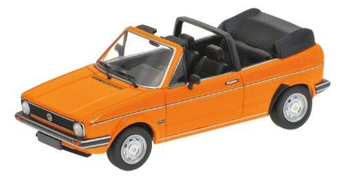 1/43 フォルクスワーゲン ゴルフ カブリオレ 1980(オレンジ) 400055131