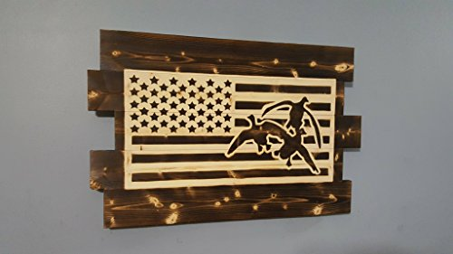 American Flag - Duck Hunting Wall -