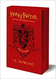 Harry Potter And The Philosopher's Stone. Gryffin: J.K. Rowling (Gryffindor Edition - Red)