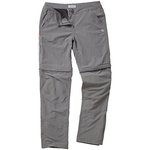 Craghoppers-WomensLadies-Nosilife-Insect-Repellent-Zip-Off-TrousersPants