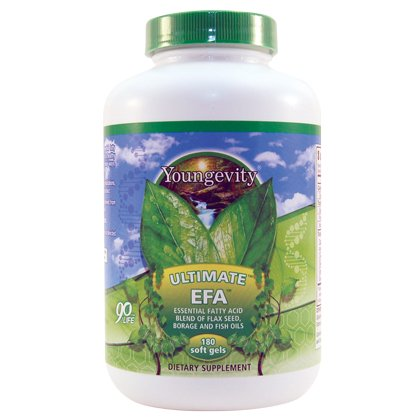 ULTIMATE EFA - 180 SOFTGELS, 4 pack by Youngevity