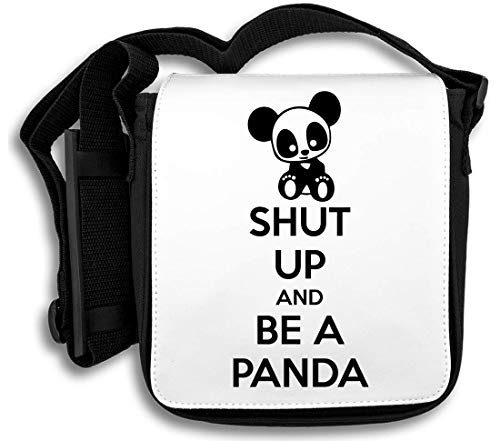 And Be Panda Shut Up Tracolla A Borsa 7Tfx5zxqw