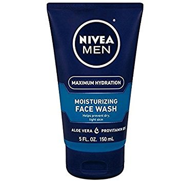 NIVEA FOR MEN Original Moisturizing Face Wash 5 oz (Pack of 3)