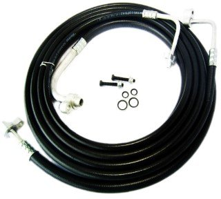 Adapter 2010 Ac - SU33468 Rear A/C Line Set, AC Hoses, Air Conditioning Replacement Lines (AMAZON FITMENT IS INCORRECT, PLEASE READ LISTING DETAILS)