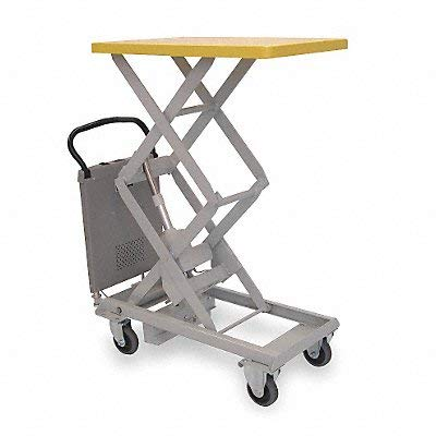 Southworth Dandy Lift Powered Lift Tables - 220-Lb. Capacity - 20X31-1/2