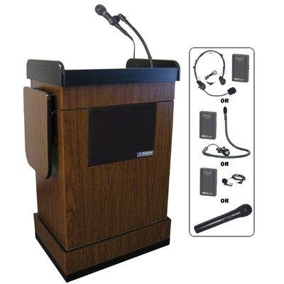 Multimedia Computer Full Podium Finish: Walnut, Sound: Wireless -