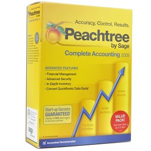 Sage Peachtree Complete Accounting 2009 Software for PC Manage Your Business Finances Efficiently!