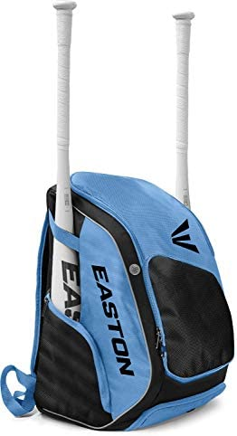 EASTON ELITE X バット&用具 バックパックバッグ 2021 野球ソフトボール バットスリーブ2個 通気靴と用具コンパートメント ファスナー付き貴重品ポケット ウォーターボトルスリーブ フェンスフック
