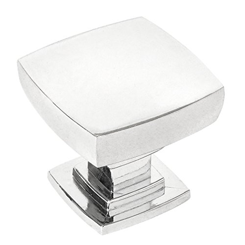 10 Pack - Cosmas 5232CH Polished Chrome Contemporary Square Cabinet Knob