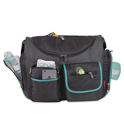 Fisher-Price FastFinder Wide Open Diaper Bag