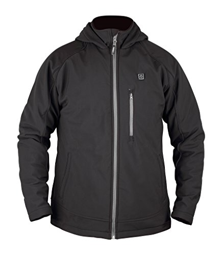 - Prosmart Men's Heated Jacket with hood and 12Volt Battery Pack (XXL)