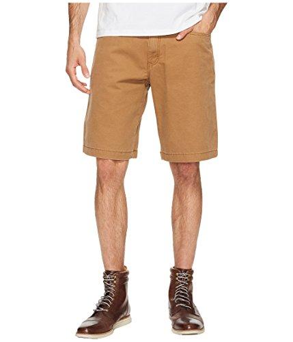 Timberland Mens Shorts - Timberland PRO Men's Son Canvas Work Short, Dark Wheat, 34W x 11L