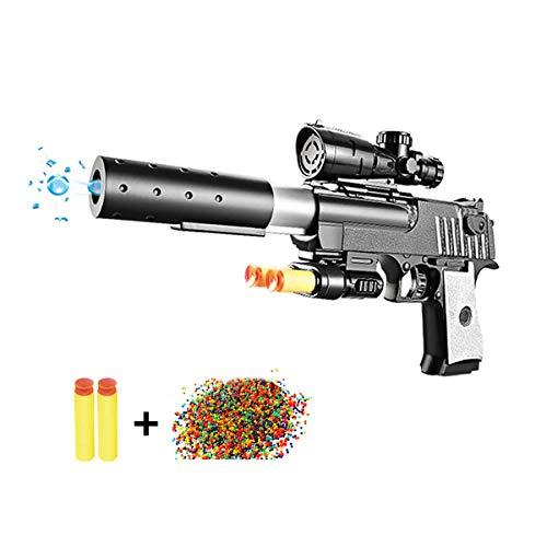 Desert Eagle Toy Foam Orbeez Gun Dual-Purpose Pistol +20000 Crystal Bullet ()