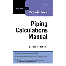 Piping Calculations Manual (Mcgraw-Hill Calculations) (English Edition)