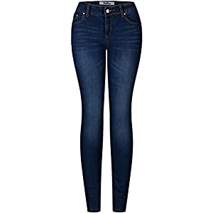2LUV Women's 5 Pocket Ankle Stretch Skinny Jeans 16