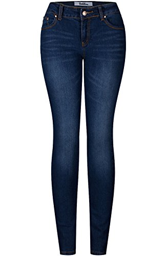 2LUV Women's 5 Pocket Ankle Stretch Skinny Jeans 14