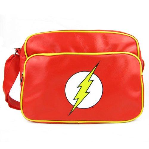 The Flash - Bolso bandolera  Mujer Hombre unisex rojo