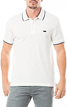 Levis Pique Polo, Hombre, Blanco (White Smoke W/Dress Blues ...