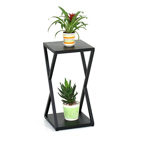 ZPMZ- American Iron Art Multilayer Flower Stand Balcony Living Room Indoor Ground Pot Rack Scindapsus Chlorophytum Succulents Plant Shelf ( Size : 3030100cm ) by FLOWER RACKS