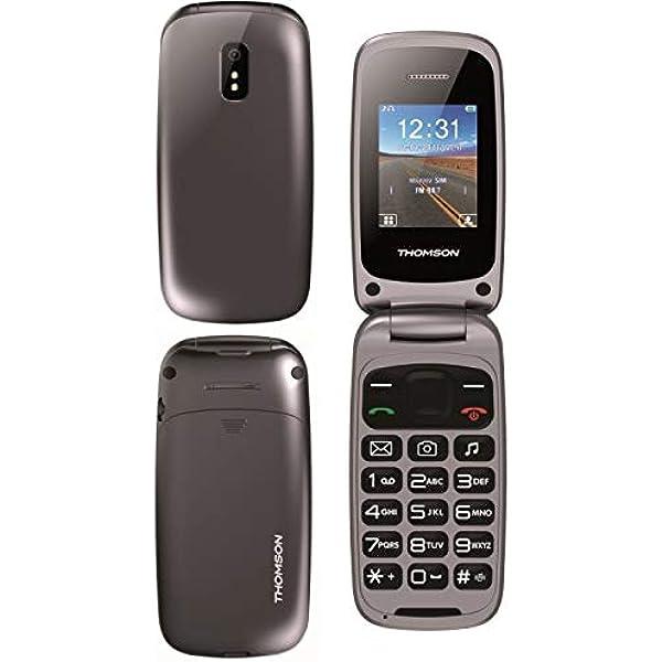 Thomson TLINK40 - Móvil Tipo Concha Dual SIM con Manos Libres ...