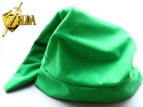 Peklo Green Legend of Zelda Link Hat Cap Anime Game Cosplay]()