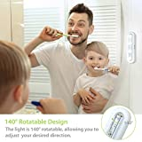 OxyLED Tap Closet Lights, One Touch Light, Stick-on Anywhere 4-Led Touch Tap Light, Cordless Touch Sensor LED Night Light, Battery Operated Stair Safe Lights, 140° Rotation