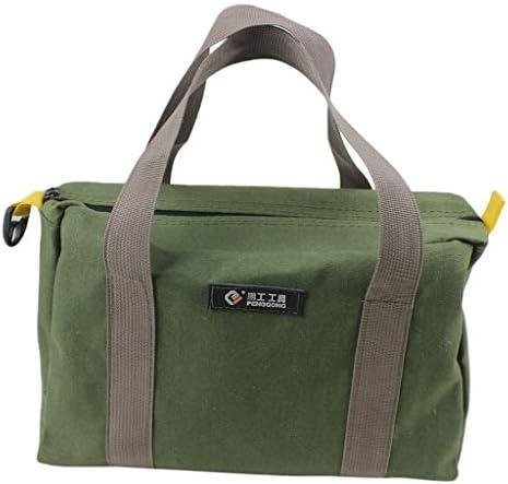 B Blesiya キャンバスツールキット バッグ DIY 整理 防水 - 30x12x18cm