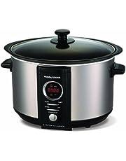 Morphy Richards Accents Digital Slow Cooker 3.5L 460004 Brushed Steel Slowcooker