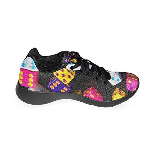 D-story Jogging Running Sneaker Donna Casual Comfort Sport Scarpe Da Corsa A Piedi Multi12