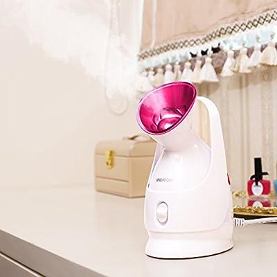 KINGDOMCARES Nano Ionic Warm Mist Facial Steamer Personal Sauna SPA NanoSteamer Moisturizing Salon Skin Care Pores Cleanse Nanocare Hot Mist Face Sprayer Face Hydrate System Atomizer Humidifier