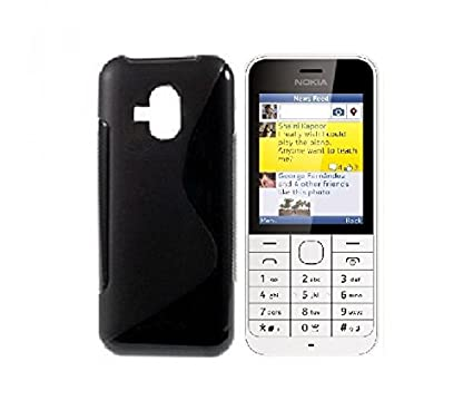 hot sale online f4d30 1b151 Azzil Back Cover for Nokia 220: Amazon.in: Electronics