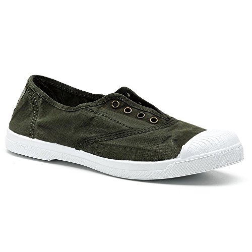 donna Verde World Sneaker Kaki Natural vx8REw4tqq