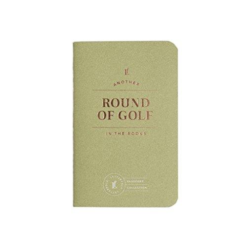Golf Passport Journal - Pocket-Sized Golfing Book by Letterfolk