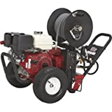 - NorthStar Super High Flow Gas Cold Water Pressure Washer - 5.0 GPM, 3000 PSI, Honda Engine, Belt Drive, Model# 1572042