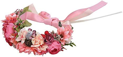 Berry pink headband
