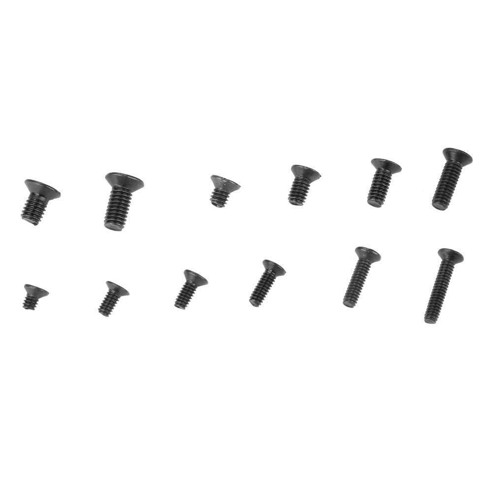 Screw Set 300pcs Multi-Size Screw Kit Screw Fastener with 1pcs Screwdriver Cross Screw Set Carbon Steel Screw