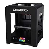 3D Printer, Kingroon Fully Assembled with Touch Screen Assisted Level and Printing Space(200x200x225mm), Free MicroSD Card Preloaded with Printable 3D Models by KINGROON