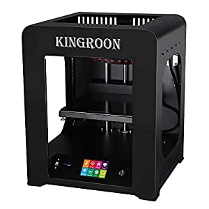 3D Printer, Kingroon Fully Assembled with Touch Screen Assisted Level and Printing Space(200x200x210mm), Free MicroSD Card Preloaded with Printable 3D ...
